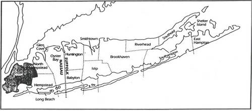 Long Island Townships